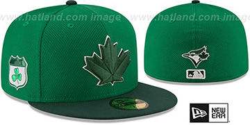 Blue Jays '2017 ST PATRICKS DAY' Hat by New Era