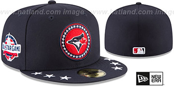 Blue Jays 2018 MLB ALL-STAR WORKOUT Fitted Hat by New Era