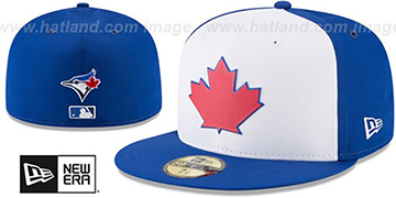 Blue Jays 2018 PROLIGHT-BP White-Royal Fitted Hat by New Era