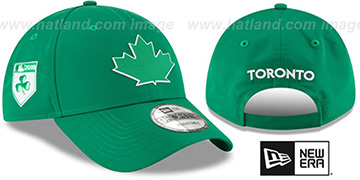 Blue Jays '2018 ST PATRICKS DAY 940 STRAPBACK' Hat by New Era