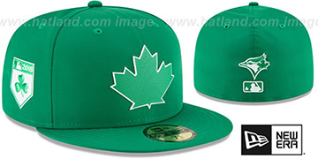 Blue Jays 2018 ST PATRICKS DAY Hat by New Era