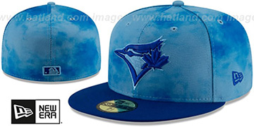 Blue Jays 2019 FATHERS DAY Fitted Hat by New Era
