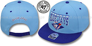 Blue Jays 2T COOP HOLDEN SNAPBACK Adjustable Hat by Twins 47 Brand