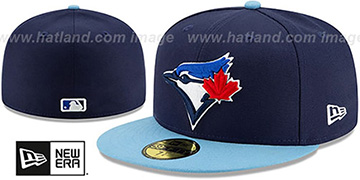 Blue Jays 'AC-ONFIELD ALTERNATE-4' Hat by New Era