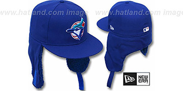 Blue Jays ALT 'TEAM-BASIC DOGEAR' Royal Fitted Hat by New Era
