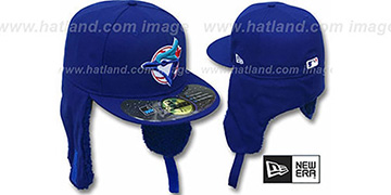 Blue Jays ALT 'WATER REPELLENT DOGEAR' Royal Fitted Hat by New Era