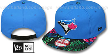 Blue Jays 'AMAZON BLOOM SNAPBACK' Blue-Multi Hat by New Era