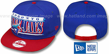 Blue Jays COOP '2T STILL BREAKIN SNAPBACK' Royal-Red Hat by New Era