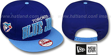 Blue Jays COOP 'CHENILLE-ARCH SNAPBACK' Royal-Sky Hat by New Era