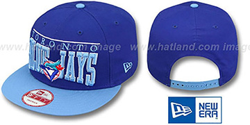 Blue Jays COOP 'LE-ARCH SNAPBACK' Royal-Sky Hat by New Era