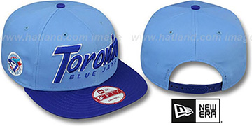 Blue Jays COOP 'SNAP-IT-BACK SNAPBACK' Sky-Royal Hat by New Era