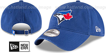 Blue Jays 'CORE-CLASSIC STRAPBACK' Royal Hat by New Era