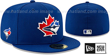 Blue Jays DASHMARK BP Royal Fitted Hat by New Era