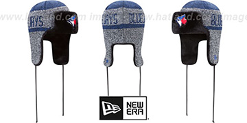 Blue Jays FROSTWORK TRAPPER Royal Knit Hat by New Era
