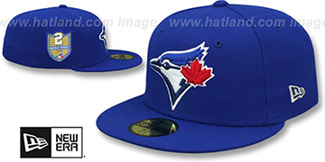 Blue Jays GOLDEN-HIT Royal Fitted Hat by New Era