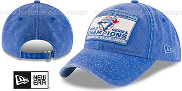 Blue Jays GW CHAMPIONS PATCH STRAPBACK Royal Hat by New Era