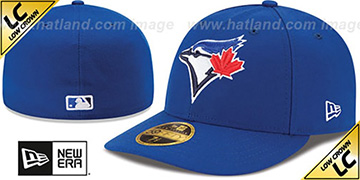 Blue Jays 2017 LOW-CROWN ONFIELD GAME Fitted Hat by New Era