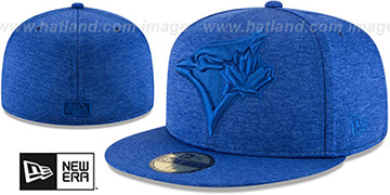Blue Jays 'MEGATONE' Royal Shadow Tech Fitted Hat by New Era