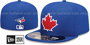 Blue Jays MLB DIAMOND ERA 59FIFTY Royal BP Hat by New Era