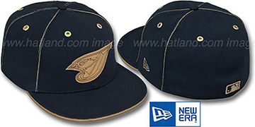 Blue Jays NAVY DaBu Fitted Hat by New Era