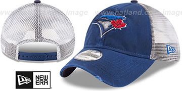 Blue Jays 'RUSTIC TRUCKER SNAPBACK' Hat by New Era