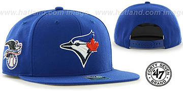 Blue Jays 'SURE-SHOT SNAPBACK' Royal Hat by Twins 47 Brand