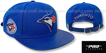 Blue Jays TEAM-BASIC STRAPBACK Royal Hat by Pro Standard