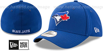 Blue Jays 'TEAM-CLASSIC' Royal Flex Hat by New Era