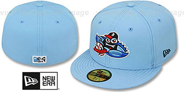 Blueclaws 'PERFORMANCE ALT-3' Sky Fitted Hat by New Era