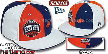 Bobcats CONFERENCE DOUBLE WHAMMY Fitted Hat by New Era
