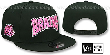 Brains HALLOWEEN COSTUME SNAPBACK Black Hat by New Era