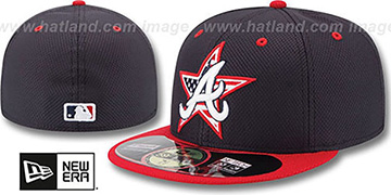 Braves '2014 JULY 4TH STARS N STRIPES' Hat by New Era