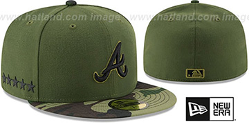 Braves 2017 MEMORIAL DAY 'STARS N STRIPES' Hat by New Era