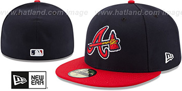Braves '2017 ONFIELD ALTERNATE' Hat by New Era