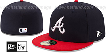 Braves '2017 ONFIELD HOME' Hat by New Era
