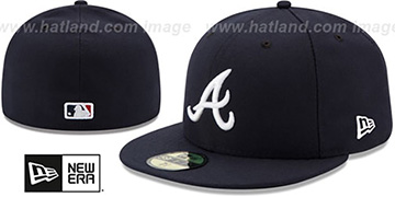 Braves '2017 ONFIELD ROAD' Hat by New Era