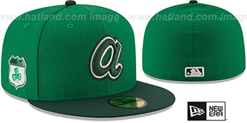 Braves 2017 ST PATRICKS DAY Hat by New Era