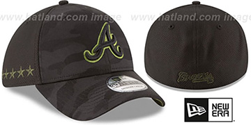 Braves 2018 MEMORIAL DAY 'STARS N STRIPES FLEX' Hat by New Era