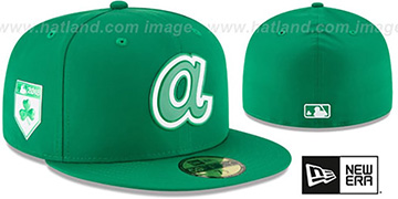 Braves 2018 ST PATRICKS DAY Hat by New Era