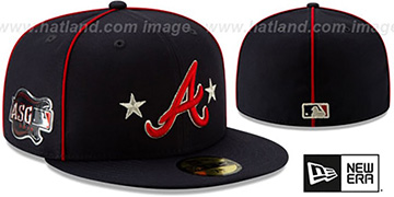 Braves 2019 MLB ALL-STAR GAME Fitted Hat by New Era