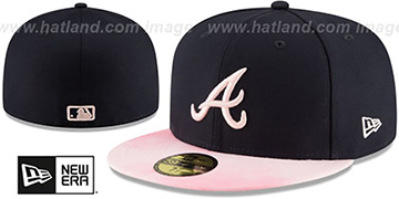 Braves 2019 MOTHERS DAY Fitted Hat by New Era