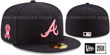 Braves 2021 MOTHERS DAY Fitted Hat by New Era