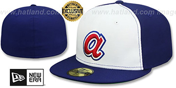 Braves 'AARON 1974 COOPERSTOWN' Fitted Hat by New Era