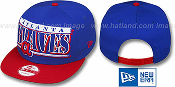 Braves COOP '2T STILL BREAKIN SNAPBACK' Royal-Red Hat by New Era