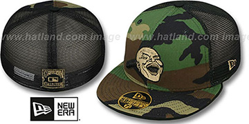 Braves COOP 'ARMY CAMO MESH-BACK' Fitted Hat by New Era