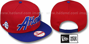 Braves COOP 'SNAP-IT-BACK SNAPBACK' Red-Royal Hat by New Era
