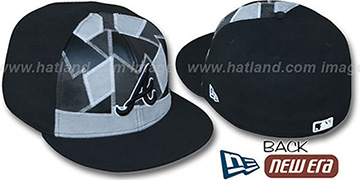 Braves CUT N PASTE Fitted Hat by New Era