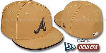 Braves 'DaBu' Fitted Hat by New Era