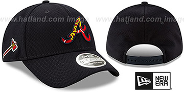Braves DASHMARK BP SNAPBACK Navy Hat by New Era