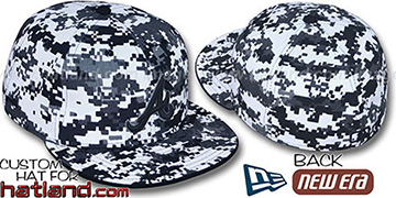 Braves 'DIGITAL URBAN CAMO' Fitted Hat by New Era
